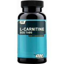 Load image into Gallery viewer, Optimum Nutrition L-Carnitine 60 tablets