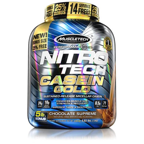 MuscleTech Nitro Tech Casein Gold 5.02 lbs