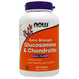 NOW Glucosamine & Chondroitin Extra Strength 120 tablets