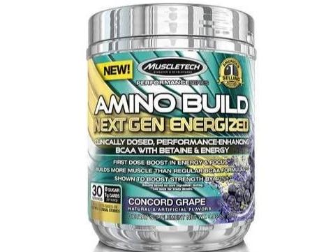 MuscleTech Amino Build Next Gen Energized 280g Concord Grape