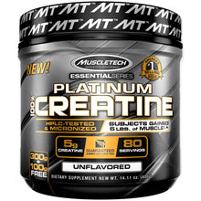 Load image into Gallery viewer, MuscleTech Platinum 100% Creatine 400g