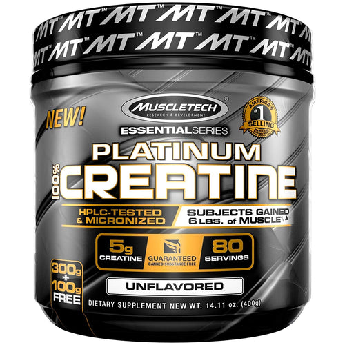 MuscleTech Platinum 100% Creatine 400g