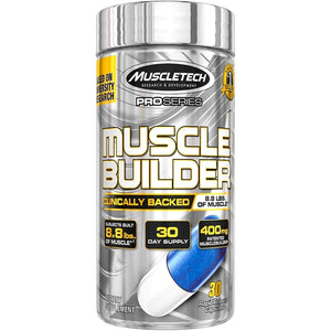 MuscleTech Muscle Builder Rapid Muscle Building Formula 30 capsules