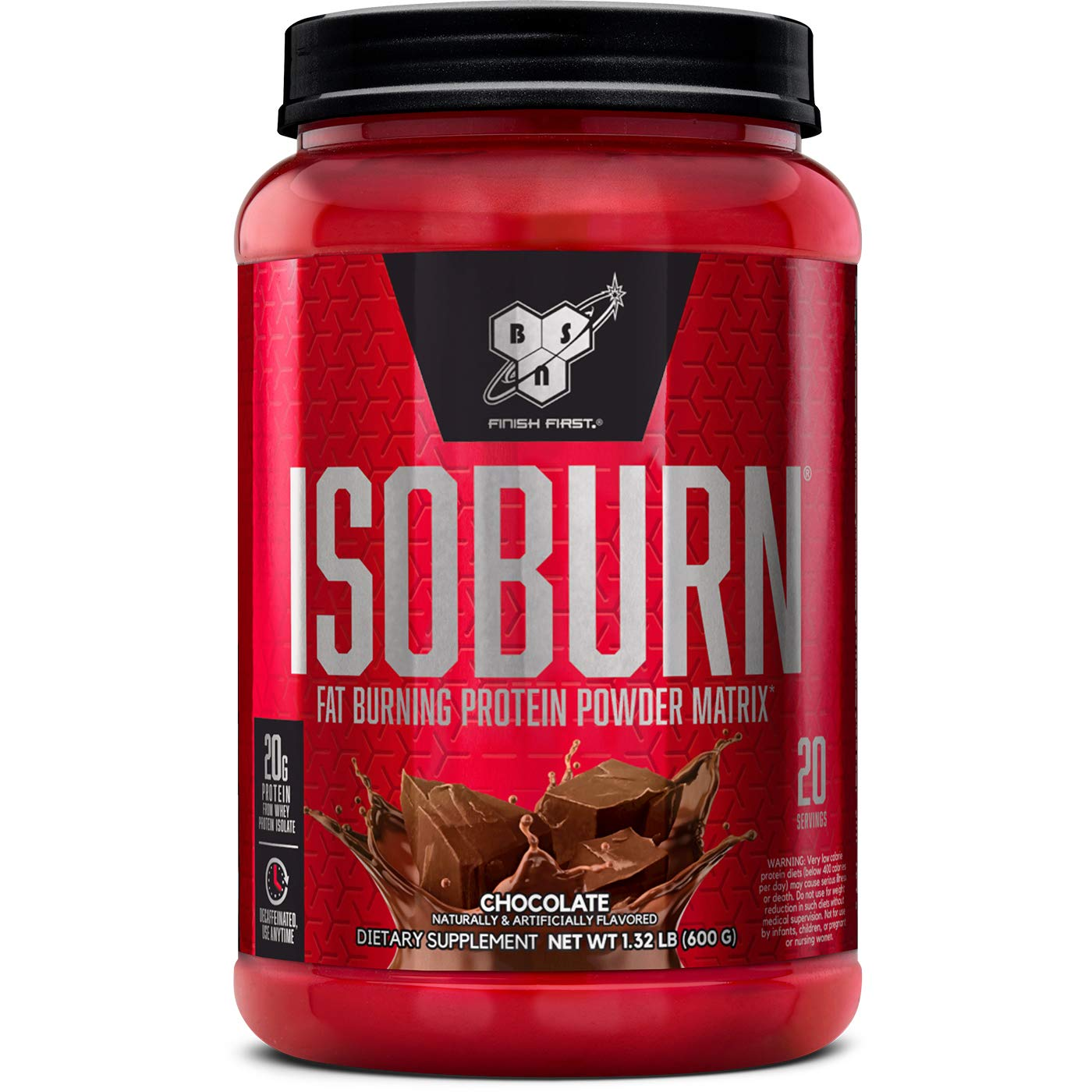 BSN Isoburn Fat Burning Protein 1.32 lbs