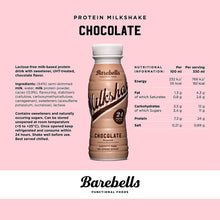 Load image into Gallery viewer, Barebells Protein Milkshake 330 ml