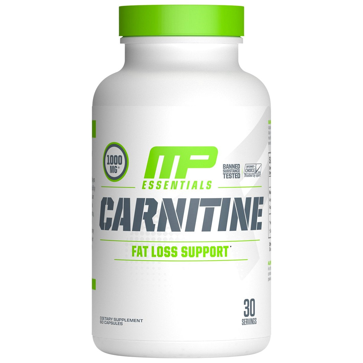 MusclePharm Carnitine 60 capsules