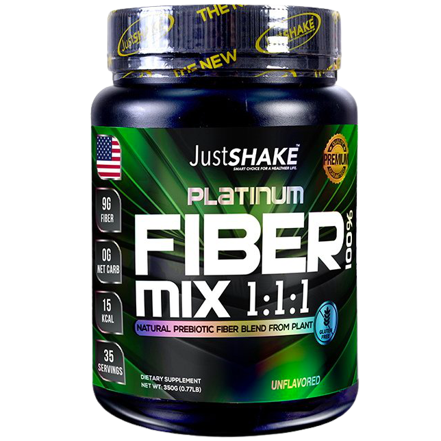 JustSHAKE Fiber Mix Powder 350g 35 Servings