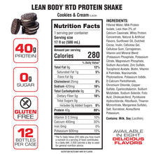 Load image into Gallery viewer, Labrada Lean Body Ready-to-Drink Protein Shake 500ml