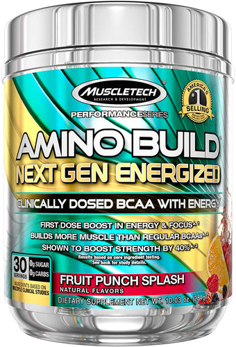 MuscleTech Amino Build Next Gen Energized 30 servings