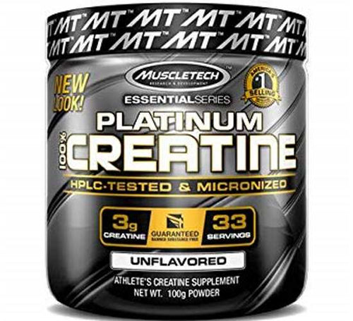 MuscleTech Platinum 100% Creatine 100g