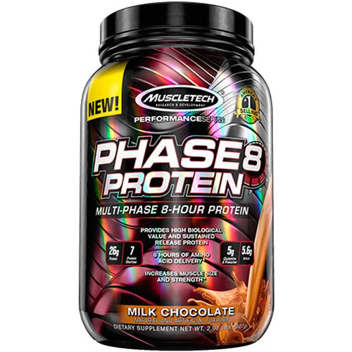 MuscleTech Phase8 Multi-Phase 8-Hour Protein 2 lbs