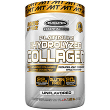 Load image into Gallery viewer, MuscleTech Platinum 100% Hydrolyzed Collagen 692g