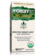 Load image into Gallery viewer, MuscleTech Hydroxycut Organic 60 rapid-release caplets