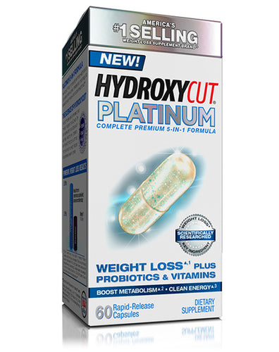 MuscleTech Hydroxycut Platinum 60 rapid-release capsules