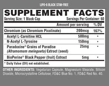 Load image into Gallery viewer, Nutrex Lipo6 Black Stim Free Ultra Concentrate 60 black-caps