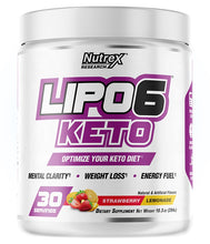 Load image into Gallery viewer, Nutrex Lipo6 Keto 294g