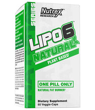 Load image into Gallery viewer, Nutrex Lipo6 Natural 60 veggie-caps