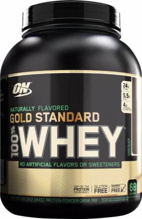 Optimum Nutrition Gold Standard 100% Whey Naturally Flavored 4.8 lbs