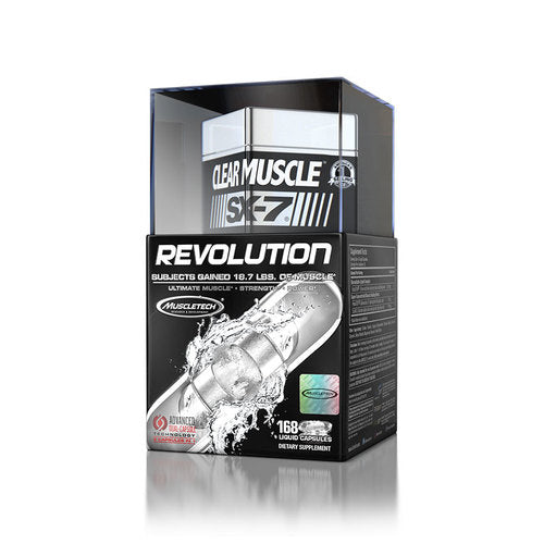 MuscleTech Clear Muscle SX-7 Revolution 168 capsules
