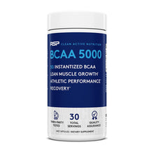 Load image into Gallery viewer, RSP Nutrition BCAA 5000 240 capsules