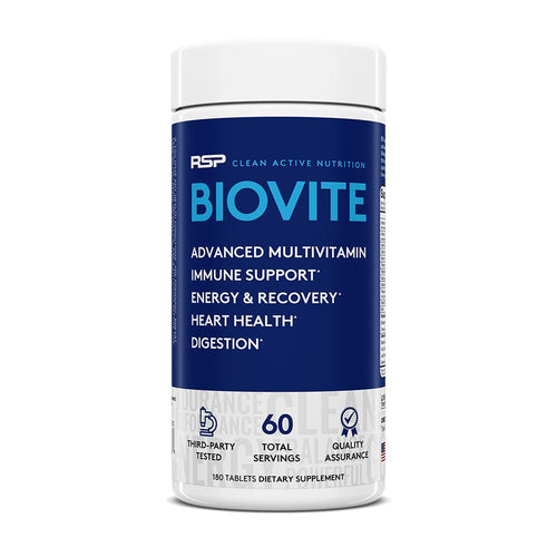 RSP Nutrition BioVite Advanced Multivitamin