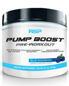 RSP Nutrition Pump Boost 30 servings
