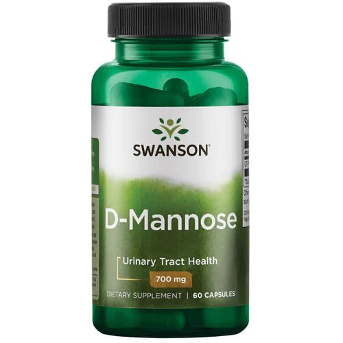 Swanson D-Mannose 700 mg 60 Capsules