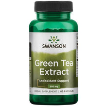 Load image into Gallery viewer, Swanson Green Tea Extract 60 Capsules