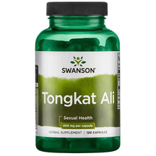 Load image into Gallery viewer, Swanson Tongkat Ali 120 Capsules