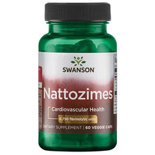 Load image into Gallery viewer, Swanson Nattozimes 60 Veg Capsules