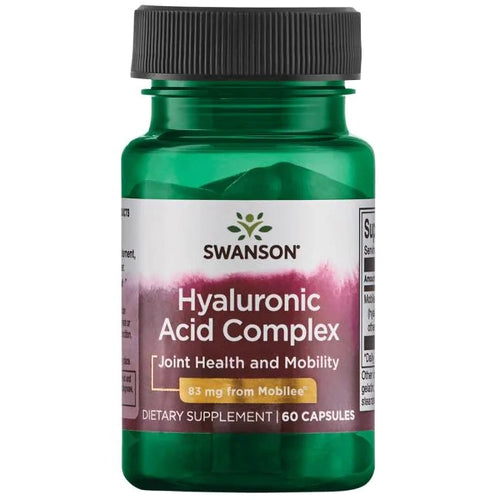 Swanson Hyaluronic Acid Complex Featuring Mobilee® 60 Capsules
