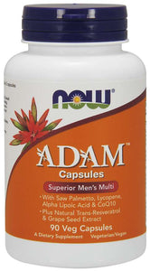NOW ADAM Multi-Vitamin for Men 90 veg capsules
