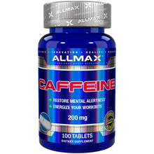 Load image into Gallery viewer, AllMax Caffeine 100 tablets