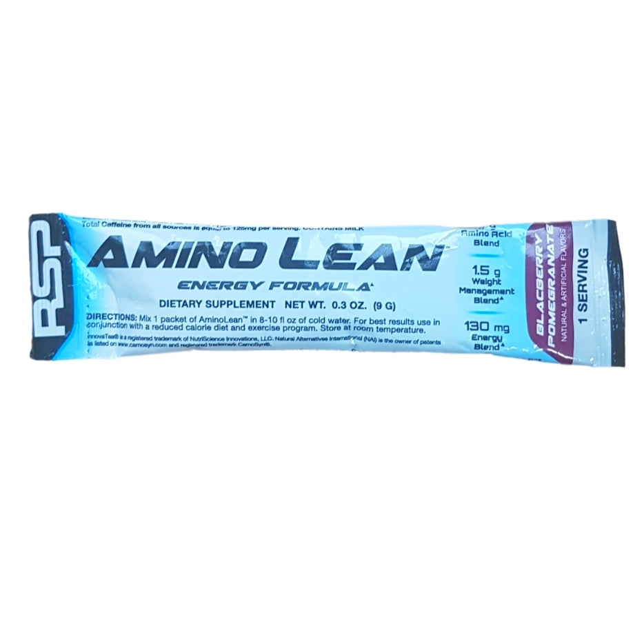 RSP Nutrition Amino Lean Single Serving