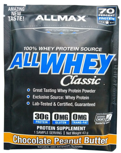 Allmax All Whey Classic 100% Whey Protein 43g