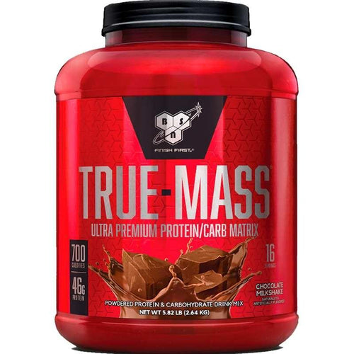 BSN True-Mass 5.82 lbs Chocolate Milkshake