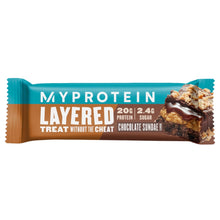 Load image into Gallery viewer, MyProtein Layered Protein Bar 60g