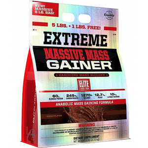 Elite Labs Extreme Massive Mass Gainer 6 lbs Chocolate