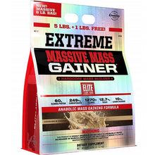 Load image into Gallery viewer, Elite Labs Extreme Massive Mass Gainer 6 lbs Cookies & Cream