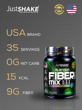 Load image into Gallery viewer, JustSHAKE Fiber Mix Powder 350g 35 Servings