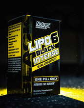 Load image into Gallery viewer, Nutrex Lipo6 Black Intense Ultra Concentrate 60 black-caps