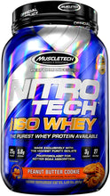Load image into Gallery viewer, MuscleTech Nitro Tech 100% Iso Whey 1.8 lbs