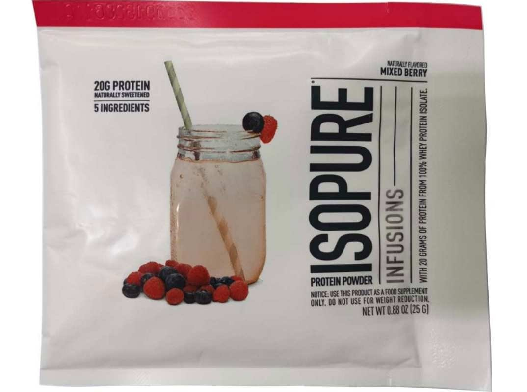 Isopure Infusions 25g Mixed Berry