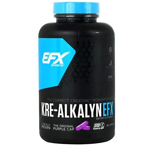EFX Sports Kre-Alkalyn EFX 750 mg 260 capsules