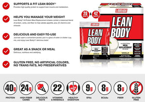 Labrada Lean Body Hi-Protein Meal Replacement 79g