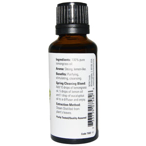 NOW Essential Oil 30 ml Lemongrass