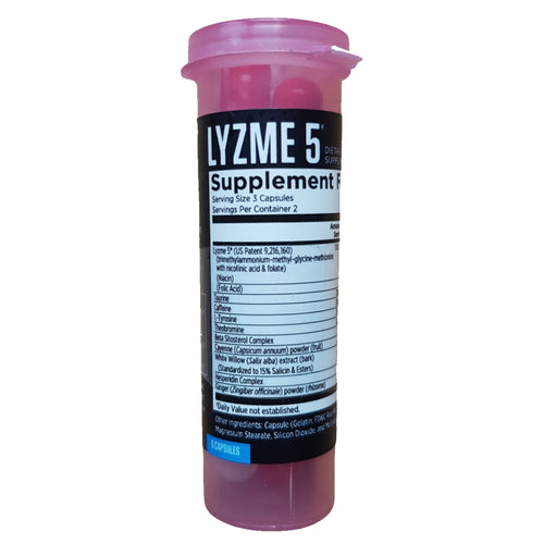 EFX Sports Lyzme 5 Lipid Metabolizer 6 capsules
