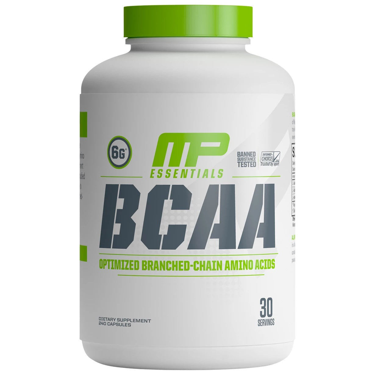 MusclePharm BCAA 240 capsules