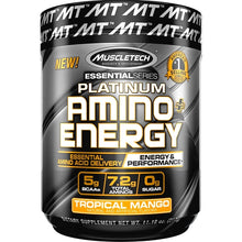 Load image into Gallery viewer, MuscleTech Platinum Amino Energy 317g Tropical Mango