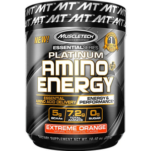 MuscleTech Platinum Amino Energy 295g Extreme Orange